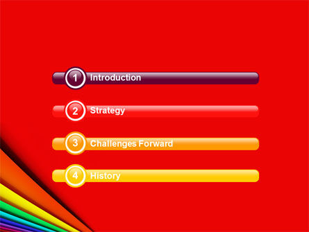 Colors PowerPoint Template, Slide 3, 05227, Abstract/Textures — PoweredTemplate.com