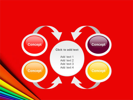 Colors PowerPoint Template Slide 6