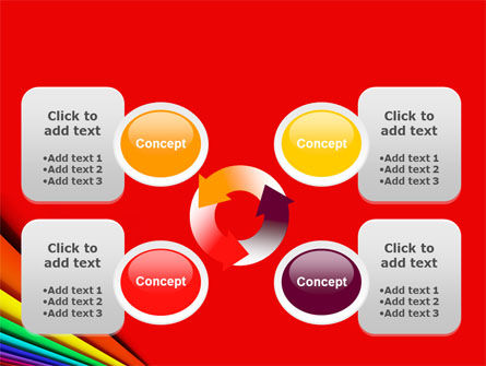 Colors PowerPoint Template Slide 9