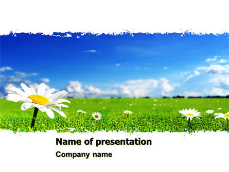 Spring Field PowerPoint Template