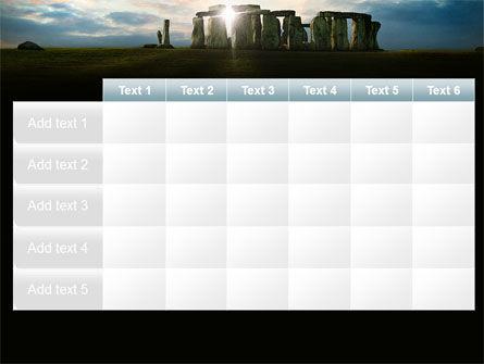 Stonehenge PowerPoint Template Slide 15