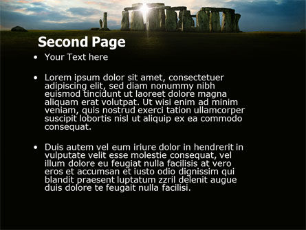 Stonehenge PowerPoint Template, Slide 2, 05232, Flags/International — PoweredTemplate.com