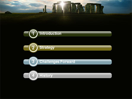 Stonehenge PowerPoint Template, Slide 3, 05232, Flags/International — PoweredTemplate.com