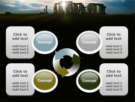 Stonehenge PowerPoint Template Slide 9