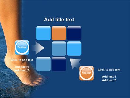 Feet PowerPoint Template Slide 16