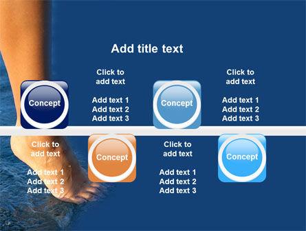 Feet PowerPoint Template Slide 19