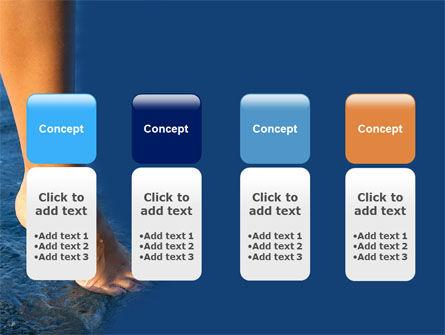 Feet PowerPoint Template Slide 5