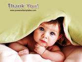 Baby Under Blanket PowerPoint Template#20