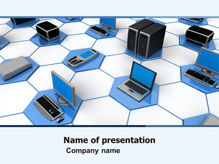 Computers: Wholesale Electronics PowerPoint Template #05235