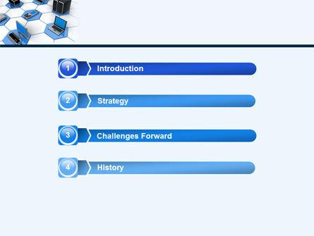 Wholesale Electronics PowerPoint Template, Slide 3, 05235, Computers — PoweredTemplate.com