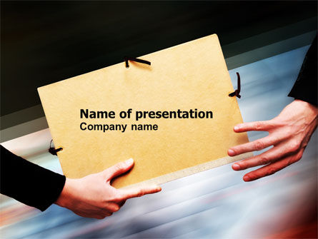 File Transfer PowerPoint Template