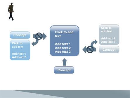Free Walking Man PowerPoint Template Slide 13