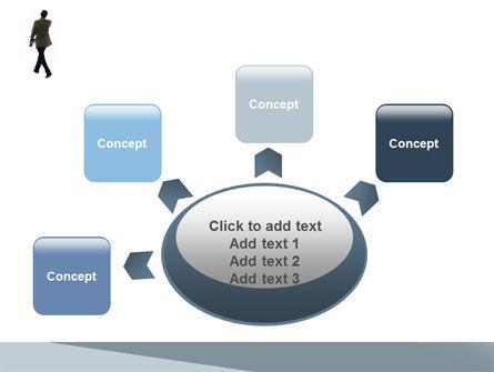 Free Walking Man PowerPoint Template Slide 7