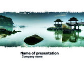 Nature & Environment: Calm PowerPoint Template #05244