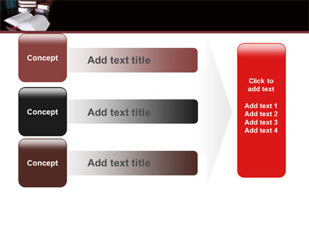 Open Books PowerPoint Template Slide 12