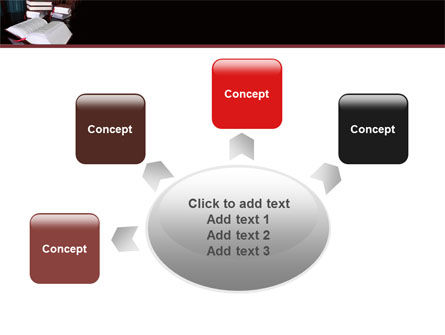 Open Books PowerPoint Template Slide 7