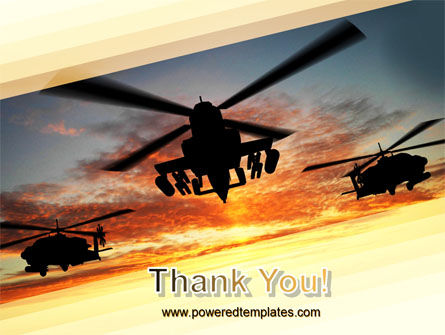 Attack Helicopter PowerPoint Template Slide 20