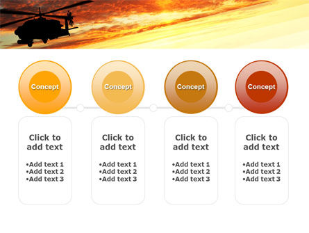 Attack Helicopter PowerPoint Template Slide 5