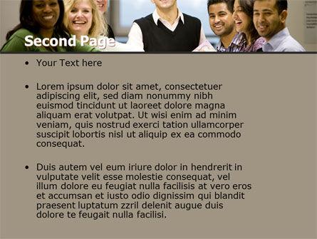 Working Group PowerPoint Template, Slide 2, 05248, Business — PoweredTemplate.com