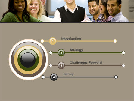 Working Group PowerPoint Template, Slide 3, 05248, Business — PoweredTemplate.com