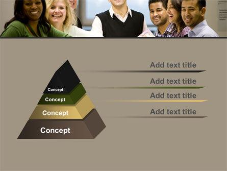 Working Group PowerPoint Template, Slide 4, 05248, Business — PoweredTemplate.com