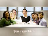 Business: Plantilla de PowerPoint - grupo de trabajo #05248