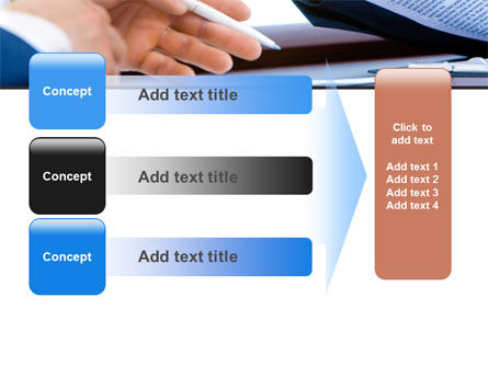 Negotiation In Progress PowerPoint Template Slide 12