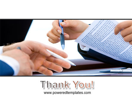 Negotiation In Progress PowerPoint Template Slide 20