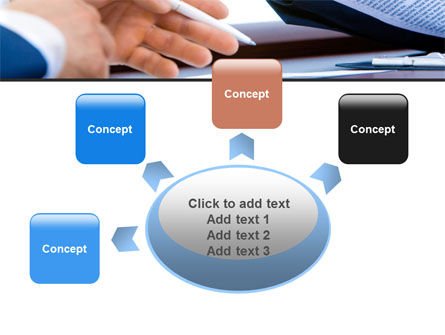 Negotiation In Progress PowerPoint Template Slide 7