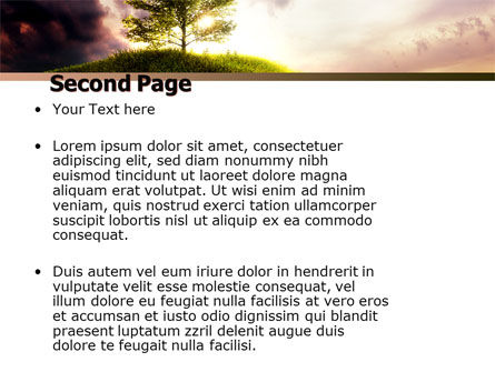 Dark And Light PowerPoint Template Slide 2