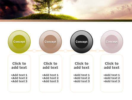 Dark And Light PowerPoint Template Slide 5