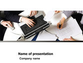 Business: Consultation PowerPoint Template #05255