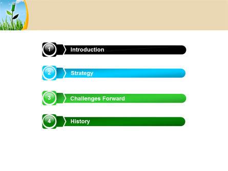 Bionics PowerPoint Template, Slide 3, 05257, Nature & Environment — PoweredTemplate.com