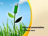 Nature & Environment: Bionics PowerPoint Template #05257