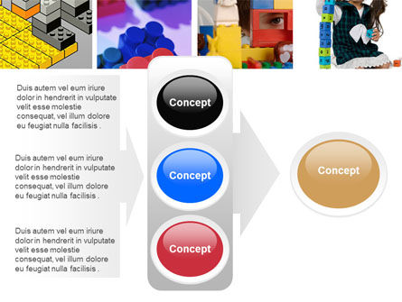 Lego PowerPoint Template Slide 11
