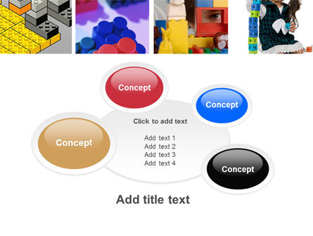 Lego PowerPoint Template Slide 16