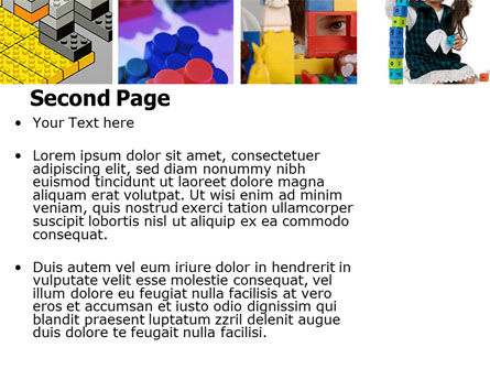 Lego PowerPoint Template Slide 2