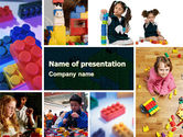 Education & Training: Lego PowerPoint Template #05258