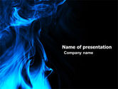 Abstract/Textures: Smoke PowerPoint Template #05269