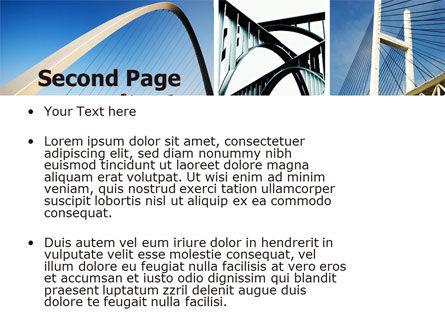 Bridges PowerPoint Template Slide 2