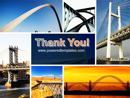 Bridges PowerPoint Template Slide 20