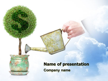 Financial/Accounting: Money Tree PowerPoint Template #05271