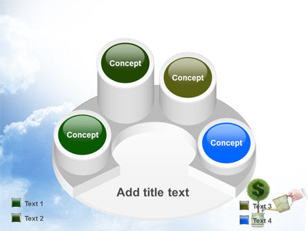 Money Tree PowerPoint Template Slide 12