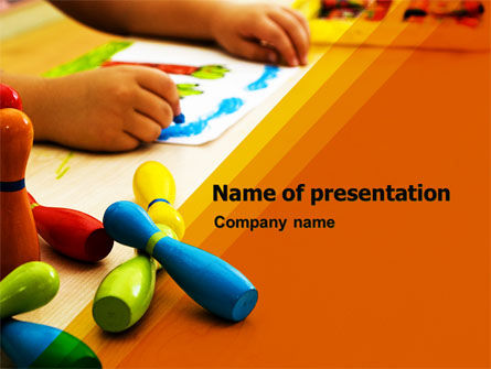 Education & Training: Preschool Education PowerPoint Template #05272
