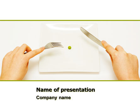 Hard Diet PowerPoint Template