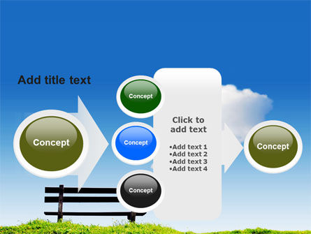 Bench PowerPoint Template Slide 17
