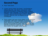 Bench PowerPoint Template#2