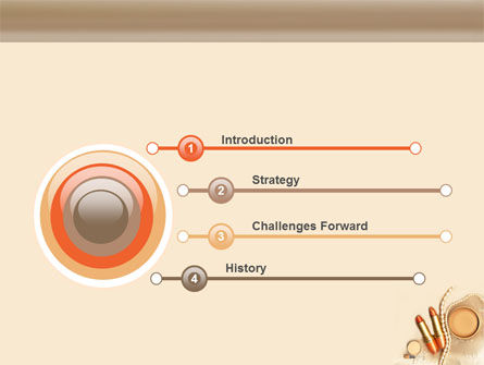 Femininity PowerPoint Template, Slide 3, 05276, Careers/Industry — PoweredTemplate.com