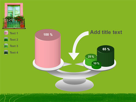 Green Apartment PowerPoint Template Slide 10