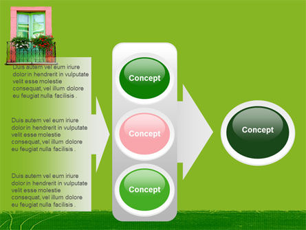 Green Apartment PowerPoint Template Slide 11